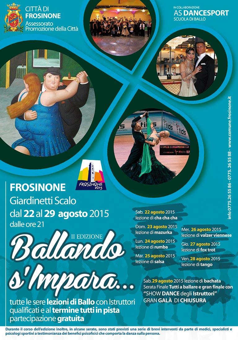 Ballando S'impara 2015 – II Edizione – Comune di Frosinone