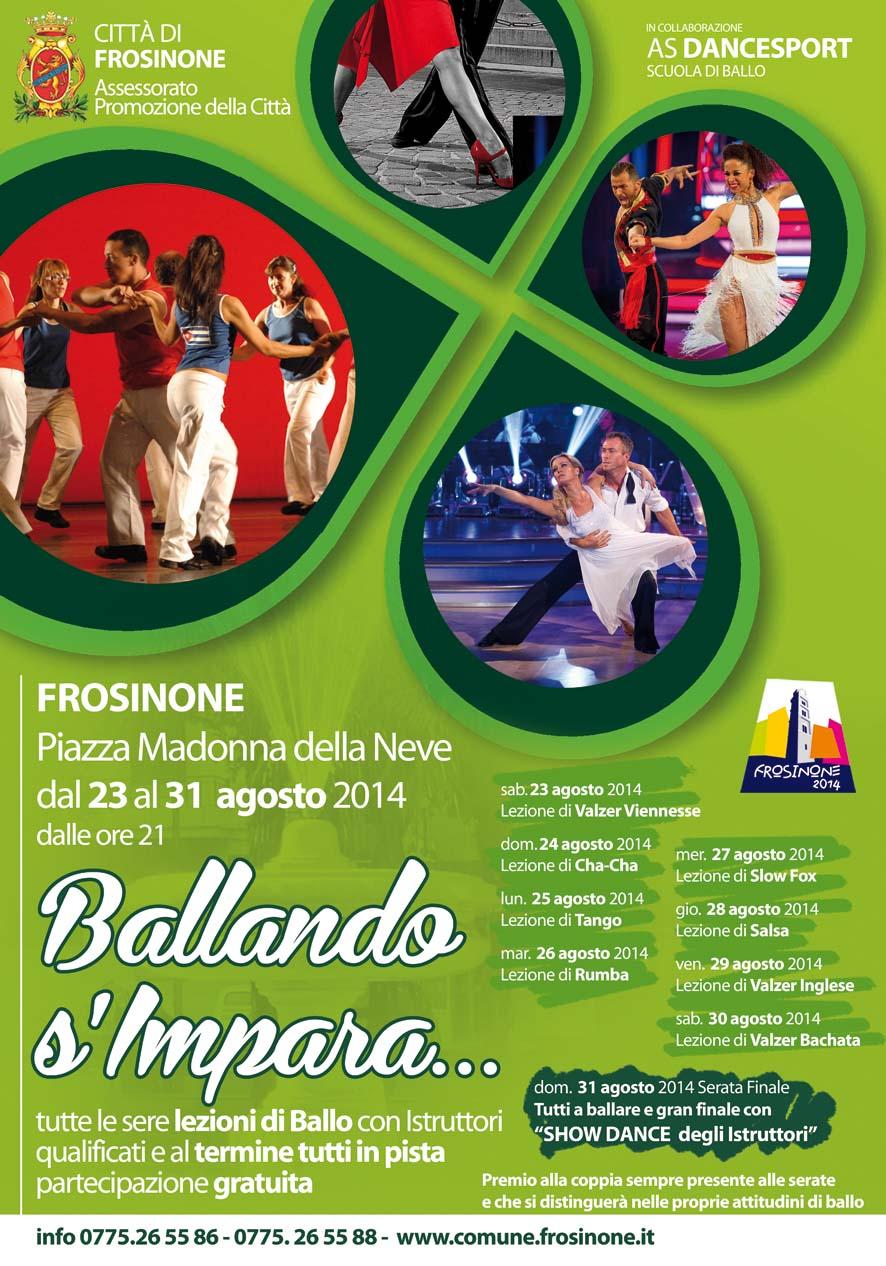 Ballando s'Impara 2014 – I Edizione – Comune di Frosinone