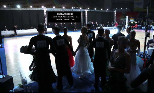 Lezioni per Competizioni di danza sportiva