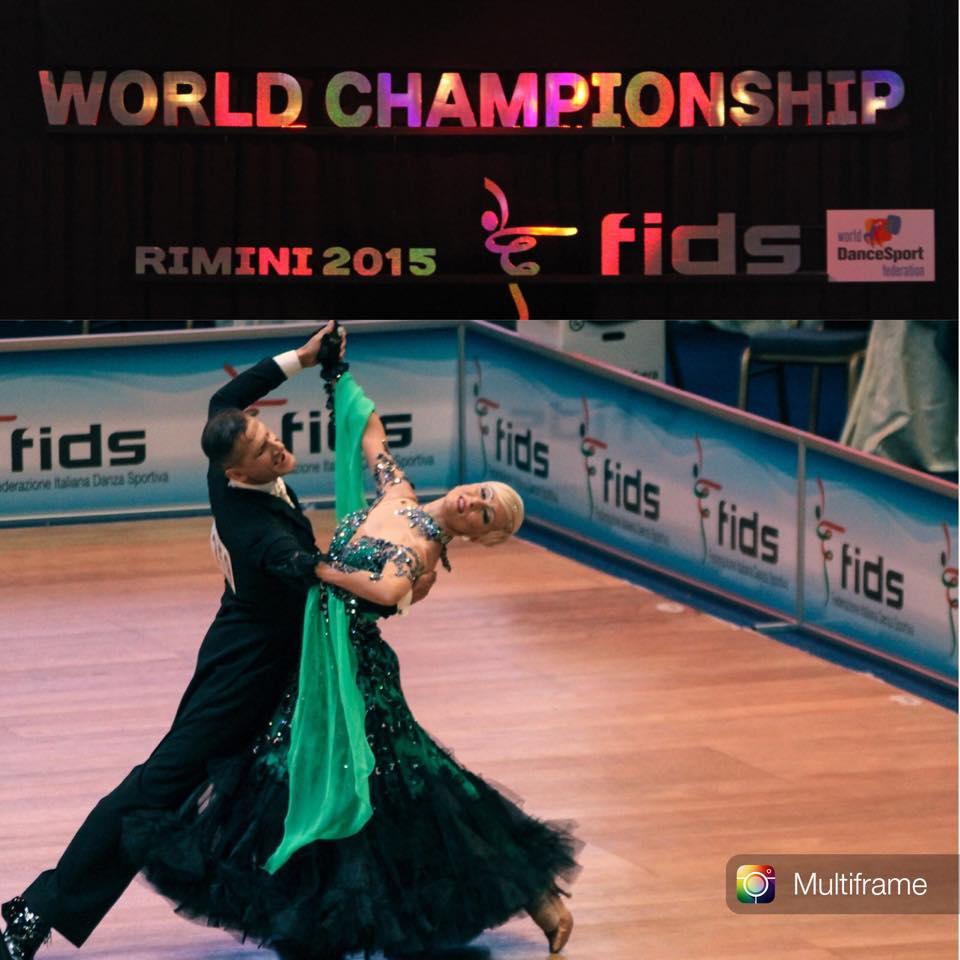 Campionati del Mondo Classe Internazionale -Rimini 2015- Iacovissi Angelo Restante Cinzia