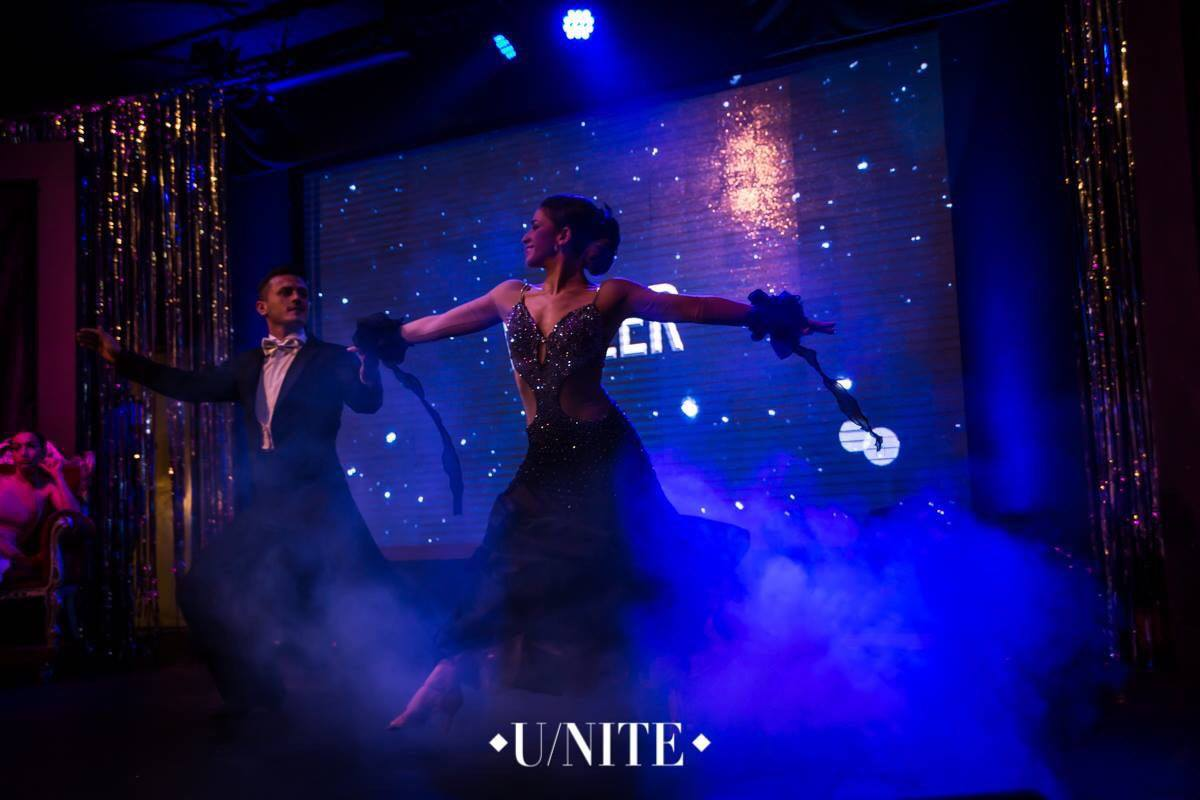 As Dancesport -Fabrizio e Cristina Finalista alla trasmissione Let's go dancing-