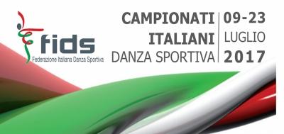 Campionati Italiani Danza Sportiva 09-23/07/2017 Rimini