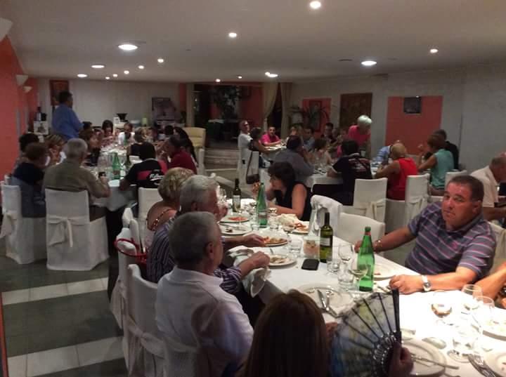 Serata al ristorante Miravalle 23 luglio 2015