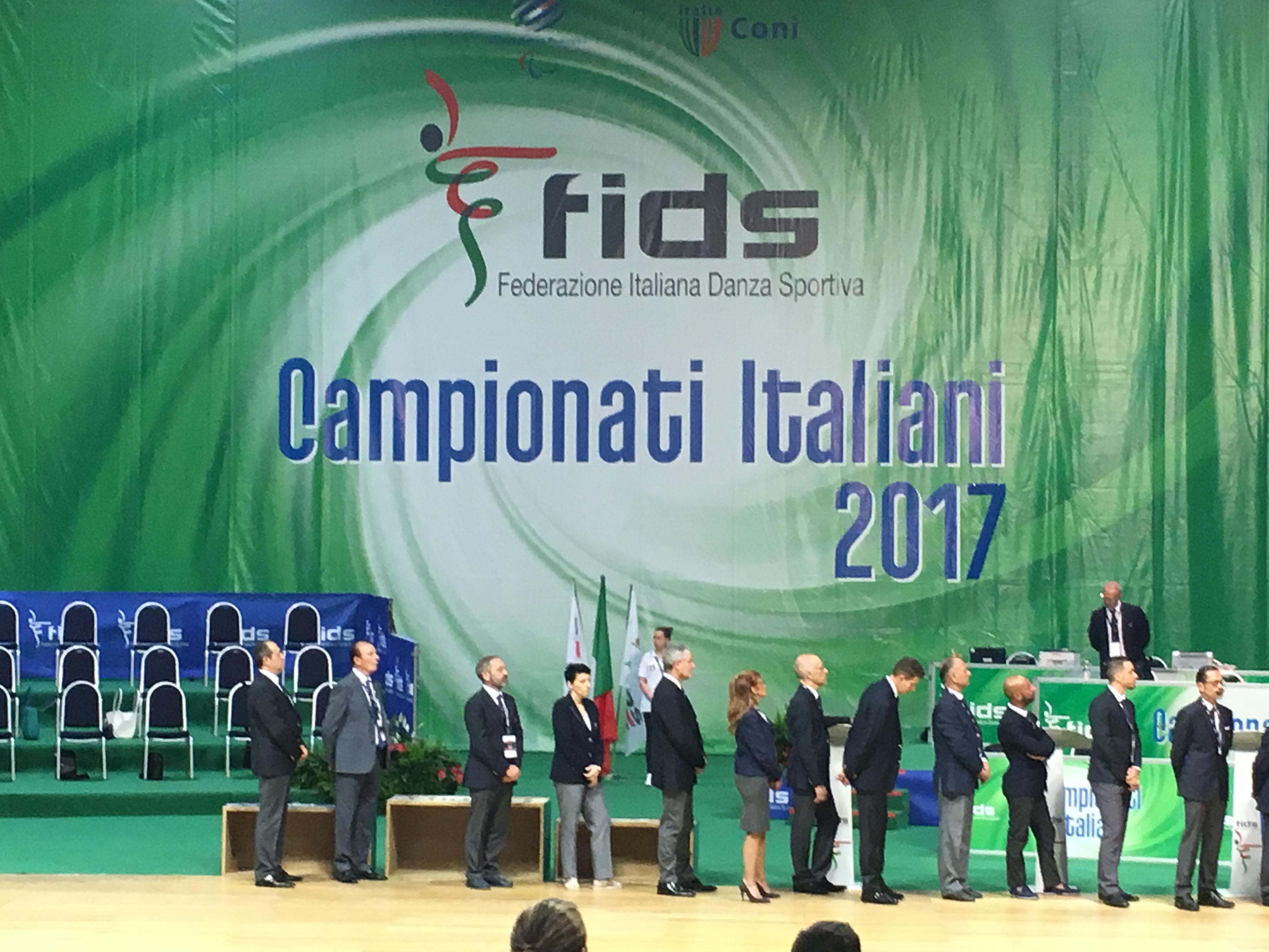 Rimini 2017 Campionati Italiani Farina Angelo Iacovissi Donatella