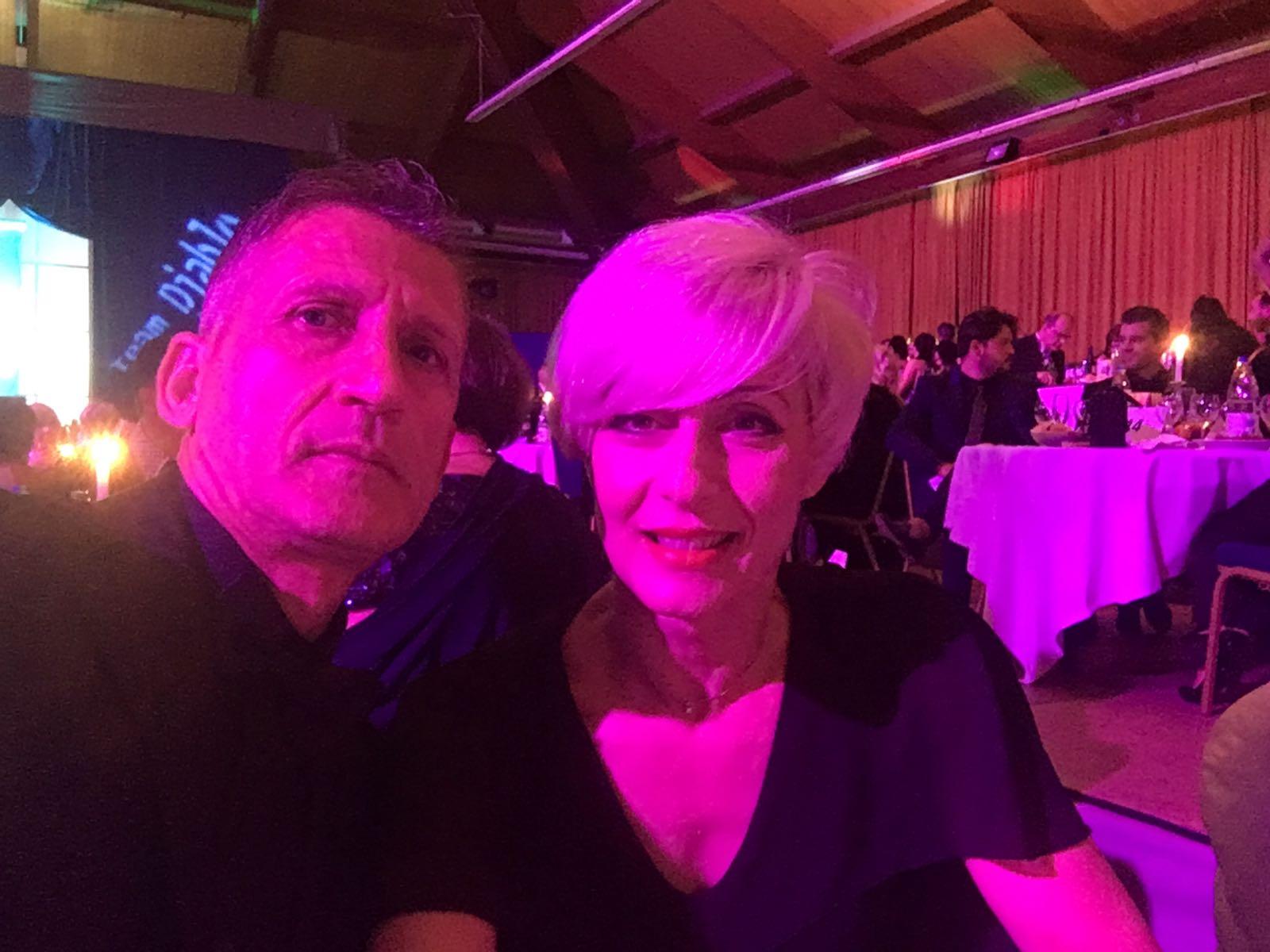 Angelo iacovissi e Cinzia restante -Gran Gala' Team Diablo-