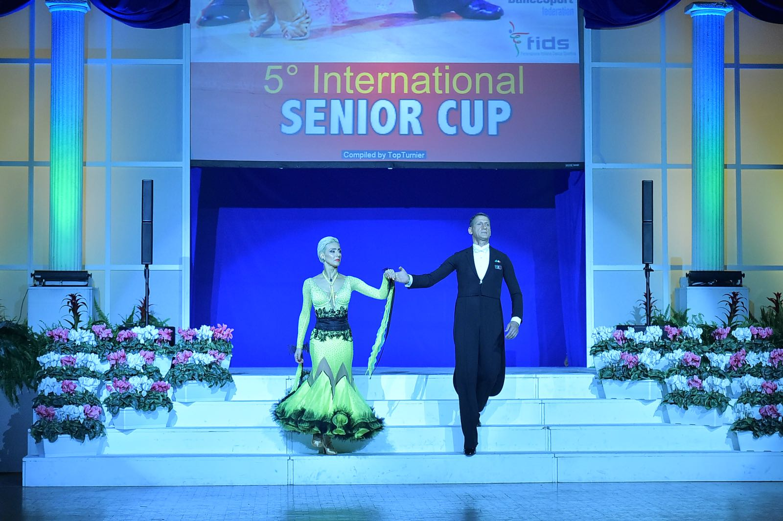 Angelo e Cinzia Finalisti 5 international senior cup