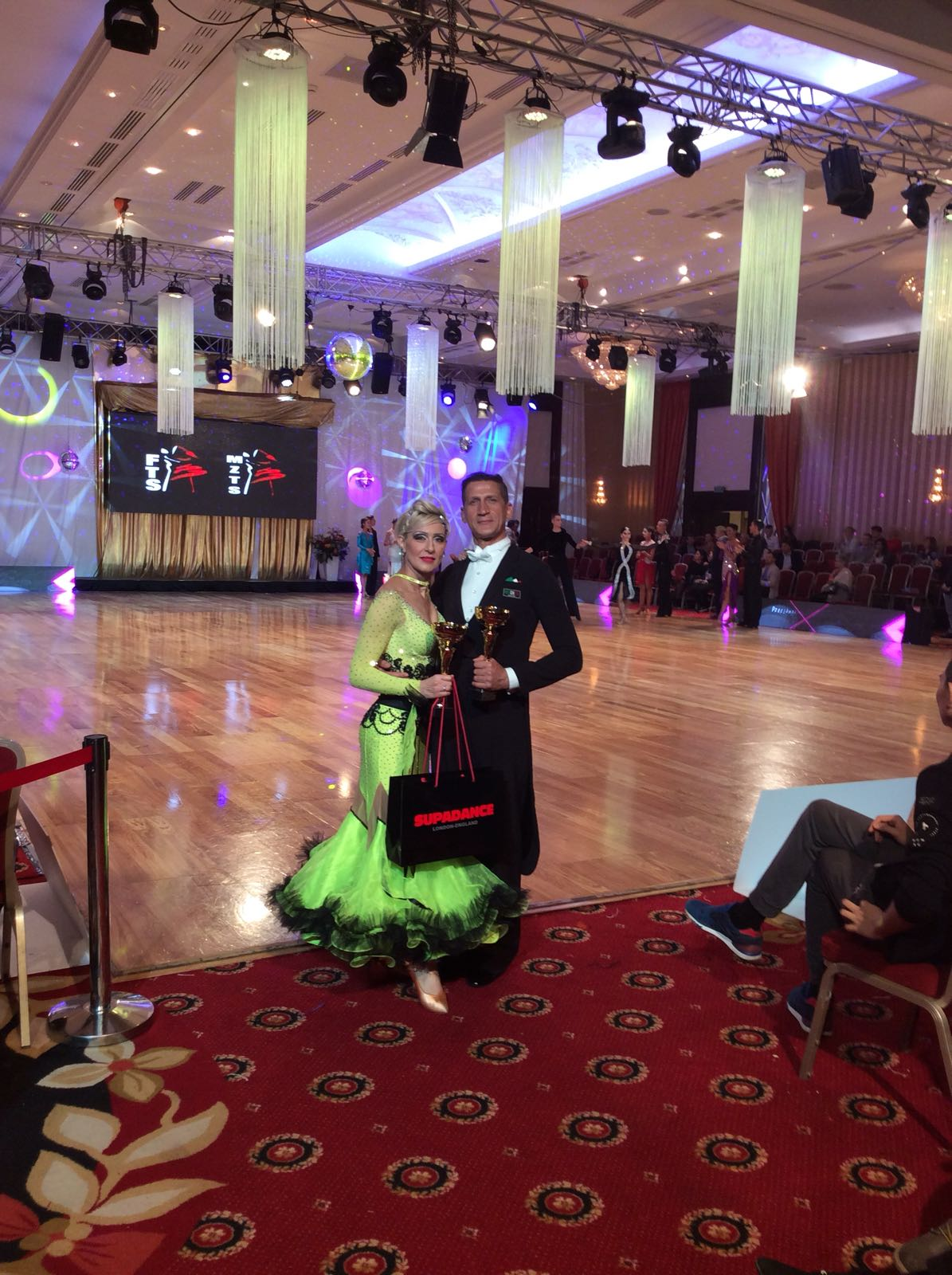 Varsavia internatiol Polish cup 1 posto Angelo e Cinzia